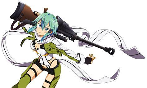 anoboy sword art online 2 sinon sword art online ii by amassu on deviantart