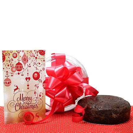 christmas gifts friends family and christmas cakes on