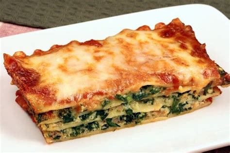 simple spinach lasagna recipe