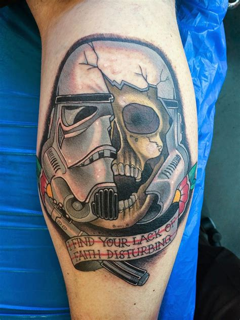 starship troopers tattoo my as a stormtrooper tattoos that i
