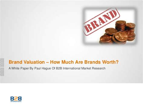 brand valuation how much is a brand worth