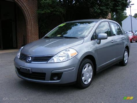 grey nissan versa 2007 magnetic grey metallic nissan versa s 14843710