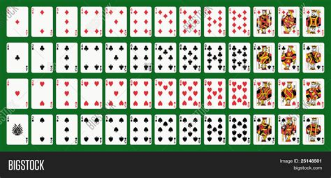 make a deck of cards cards deck ace spade image photo bigstock