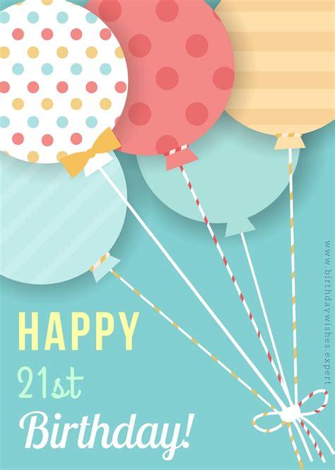 Happy 21 Birthday Wishes Birthday Wishes For 21st Birthday