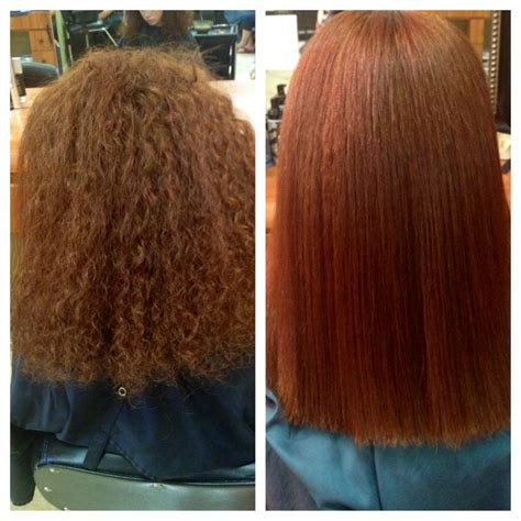 Types Of Permanent Hair Straightening before and after chi permanent straightening hair