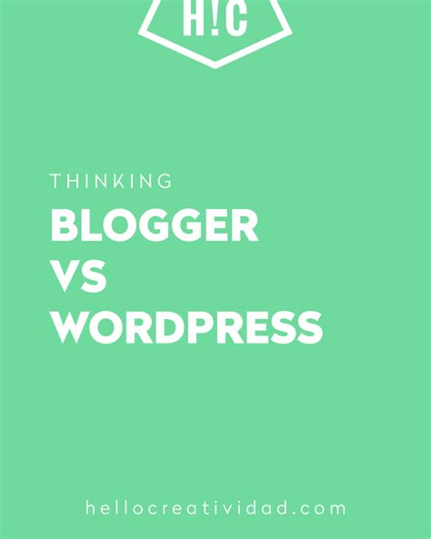 blogger vs wordpress blogger vs wordpress