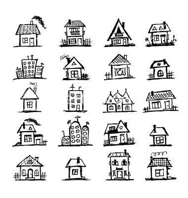 Home Design Doodle Book by 25 Best Ideas About House Doodle On Pinterest House