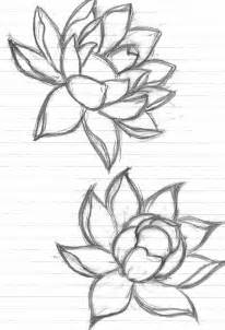 Simple Lotus Drawing Lotus Tattoos Designs Ideas And Meaning Tattoos For You