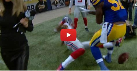 bud light snap to unlock rams giants throw punches after odell beckham jr is