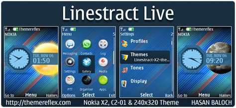 live themes for nokia x2 00 linestract live theme for nokia c1 01 c2 00 110 112
