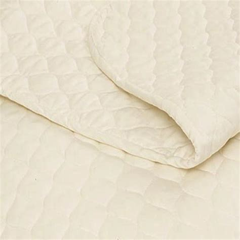 Organic Mattress Pad by Mattress Pad With Organic Cotton Fiber