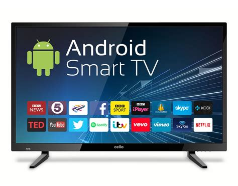 tv android 32 android smart freeview t2 hd led tv with wi fi cello electronics uk ltd