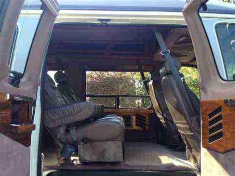 sell   ford   conversion van original owner  garaged  smokingno pets