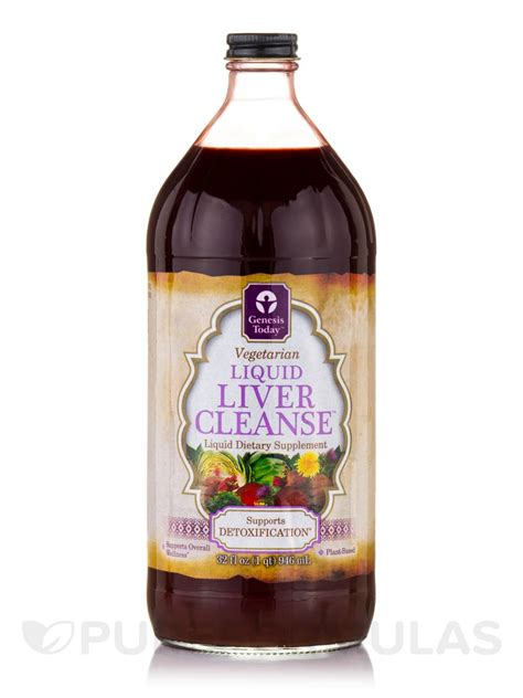 Liquid Liver Detox by Liquid Liver Cleanse 32 Fl Oz 946 Ml