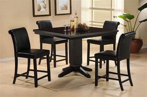 nook dining room sets papario nook counter height dining room set from