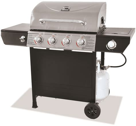Backyard Grill 4 Burner Gas Grill With Side Burner Backyard Grill 3 Burner Gas Grill With Side Burner