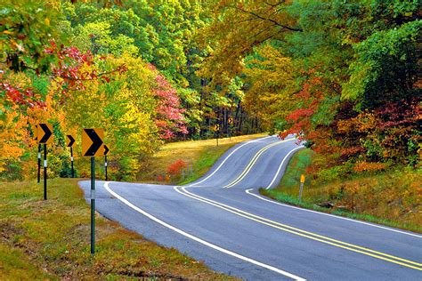 On Scenic Drive the roads less traveled not as well known scenic drives