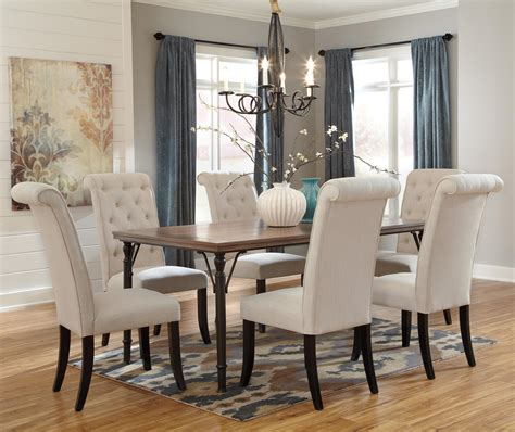 7 dining room sets 7 rectangular dining room table set w wood top metal legs by signature design by