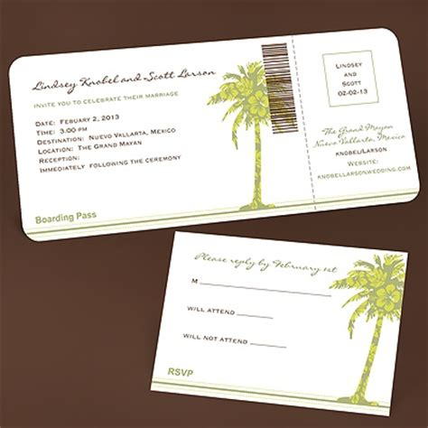 sle wedding invitations for destination weddings passport invitations for destination wedding weddingbee