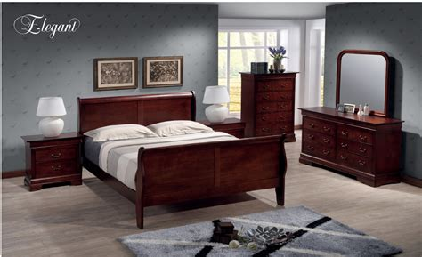 louis philippe bedroom set b220 by elegant furniture