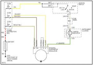 85 ford ranger alternator wiring diagram get free image