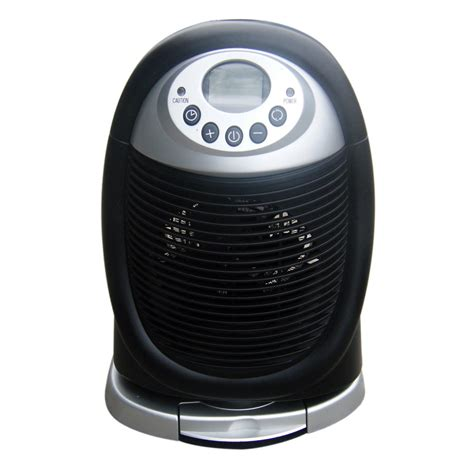 kenmore oscillating compact fan heater kenmore 90913 personal fan heater 10 2 in high in white