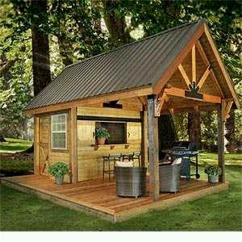 partybarbecue shed    yard outdoor living