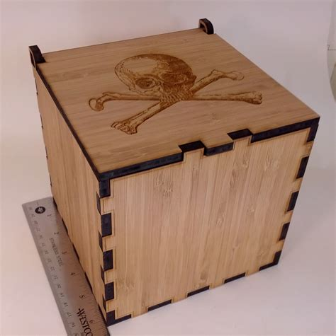 laser cut wood box template laser cut wood box assembled misadventures in software