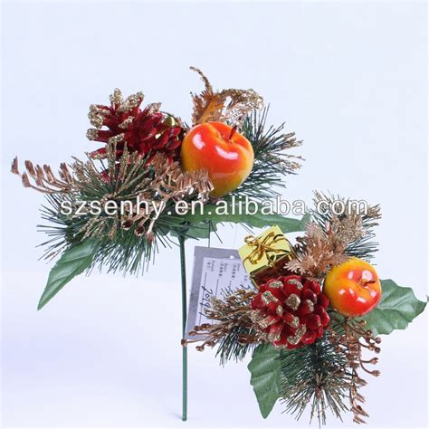 wholesale felt flower glitter christmas wreath decorations