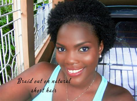 braid out on natural hair thats short pinterest braid out on natural short hair jamaican videos