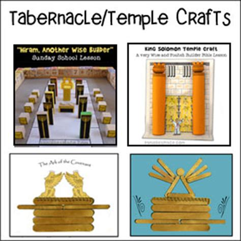 tabernacle craft for bible lessons and bible crafts for children s ministry