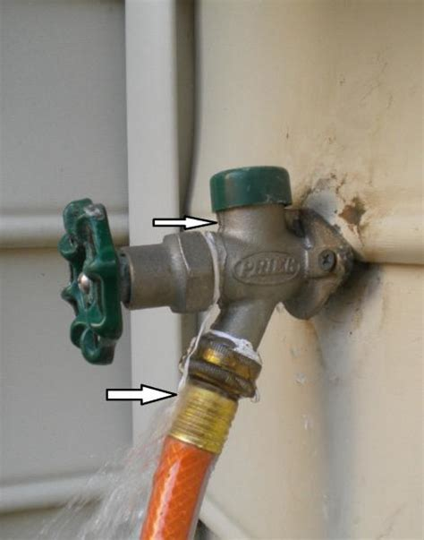 How To Replace Outdoor Faucet by Water Leaking Into Basement From Outdoor Faucet