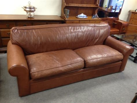 ralph leather sofa beautiful ralph by henredon feather filled leather