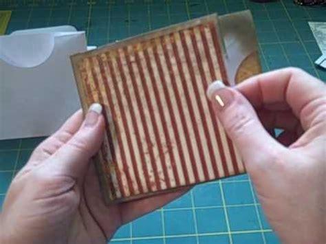 mini scrapbook tutorial youtube mini album multi pocket envelope page tutorial youtube