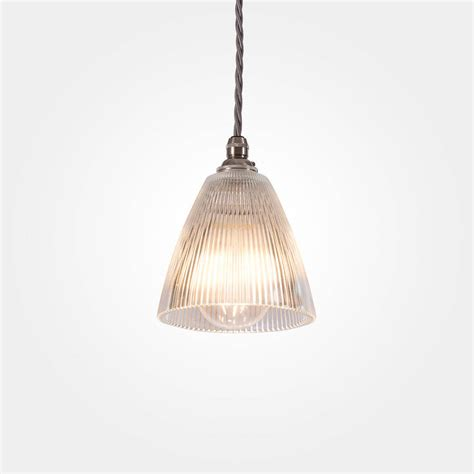 prismatic pendant light prismatic vintage pendant light small by artifact lighting