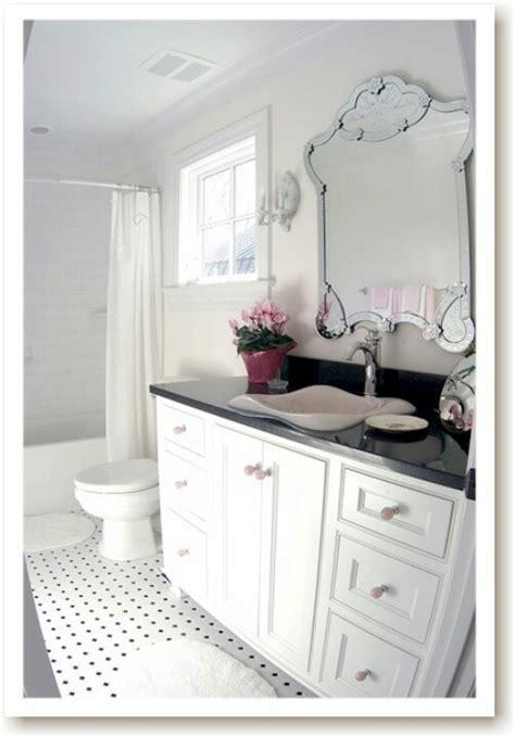 black white pink bathroom pink white black bathroom jack jill pinterest