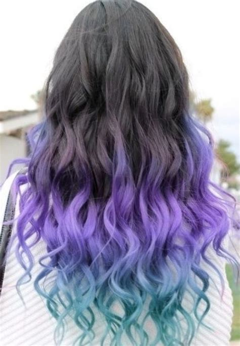 hairstyles dip dyed hair 60 trendy ombre hairstyles 2018 brunette blue red
