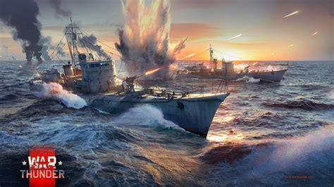 war thunder wann kommen schiffe die schiffe in war thunder sind klein und schnell statt