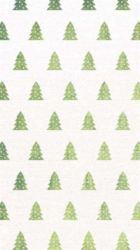 pattern christmas wallpaper christmas tree watercolor pattern free iphone holiday