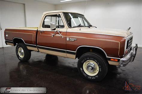 1984 dodge truck 1984 dodge d150 stepside for sale autos post