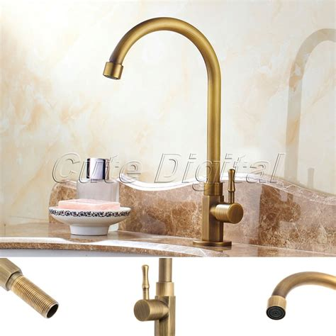 picture 21 of 50 antique brass bathroom faucet
