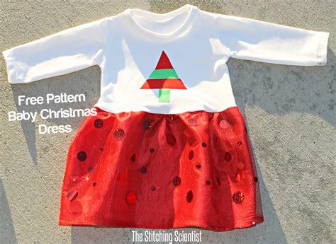 christmas pattern dress shirt baby christmas dress