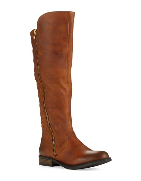 steve madden northsde boots in brown lyst