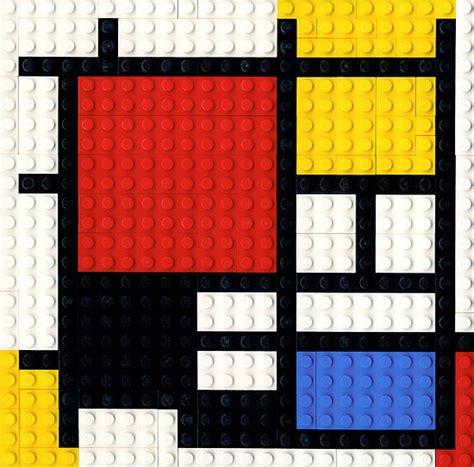 color block mondrian lego and legos