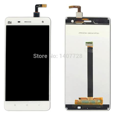 Lcd Hp Xiaomi Mi4 aliexpress buy white color replacement for xiaomi 4
