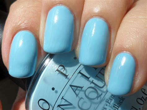 opi light blue colors april 2011 haus of