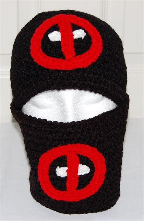 deadpool knit hat 371 best knitted crochet balaclava ski masks images on