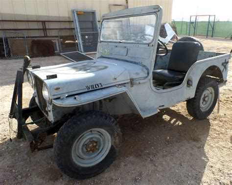 original jeep 1952 jeep willys cj3a all original for sale