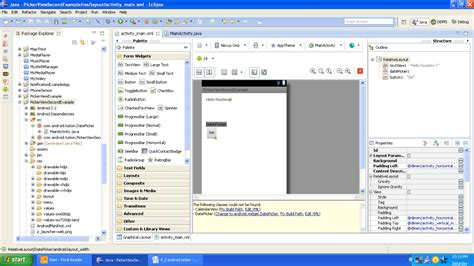android design graphical layout designing android ui with picker views android