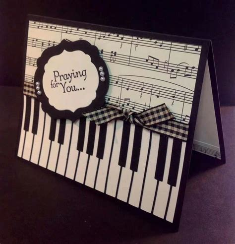 song cards the sheet along with the piano key board use